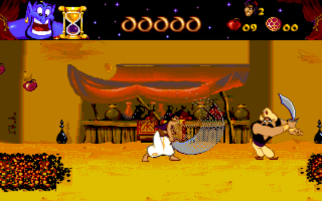 Aladdin | Old MS-DOS Games | Download for Free or play in