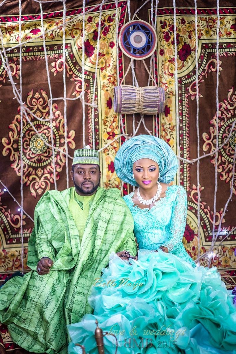 BellaNaija Glam Couple Amina And Nasir
