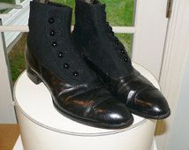 Victorian Edwardian Mens Shoes