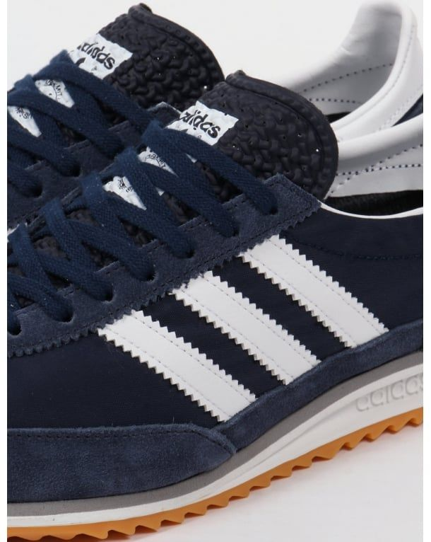 official photos b6934 88080 Adidas SL 72 Trainers Navy white,,originals,shoes,sneakers,runner