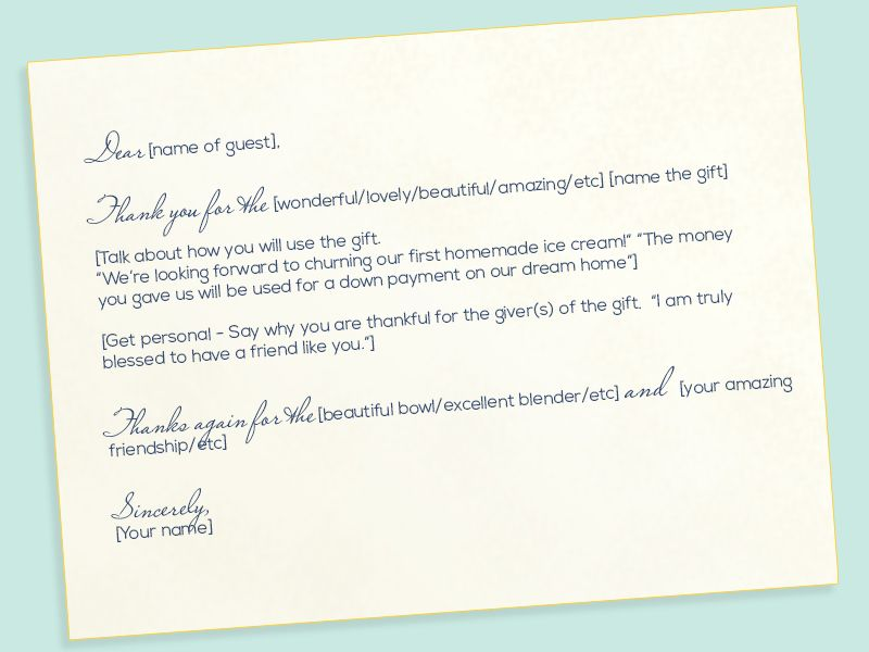 Etiquette Thanks A Bunch How To Write The Best Thank You Notes