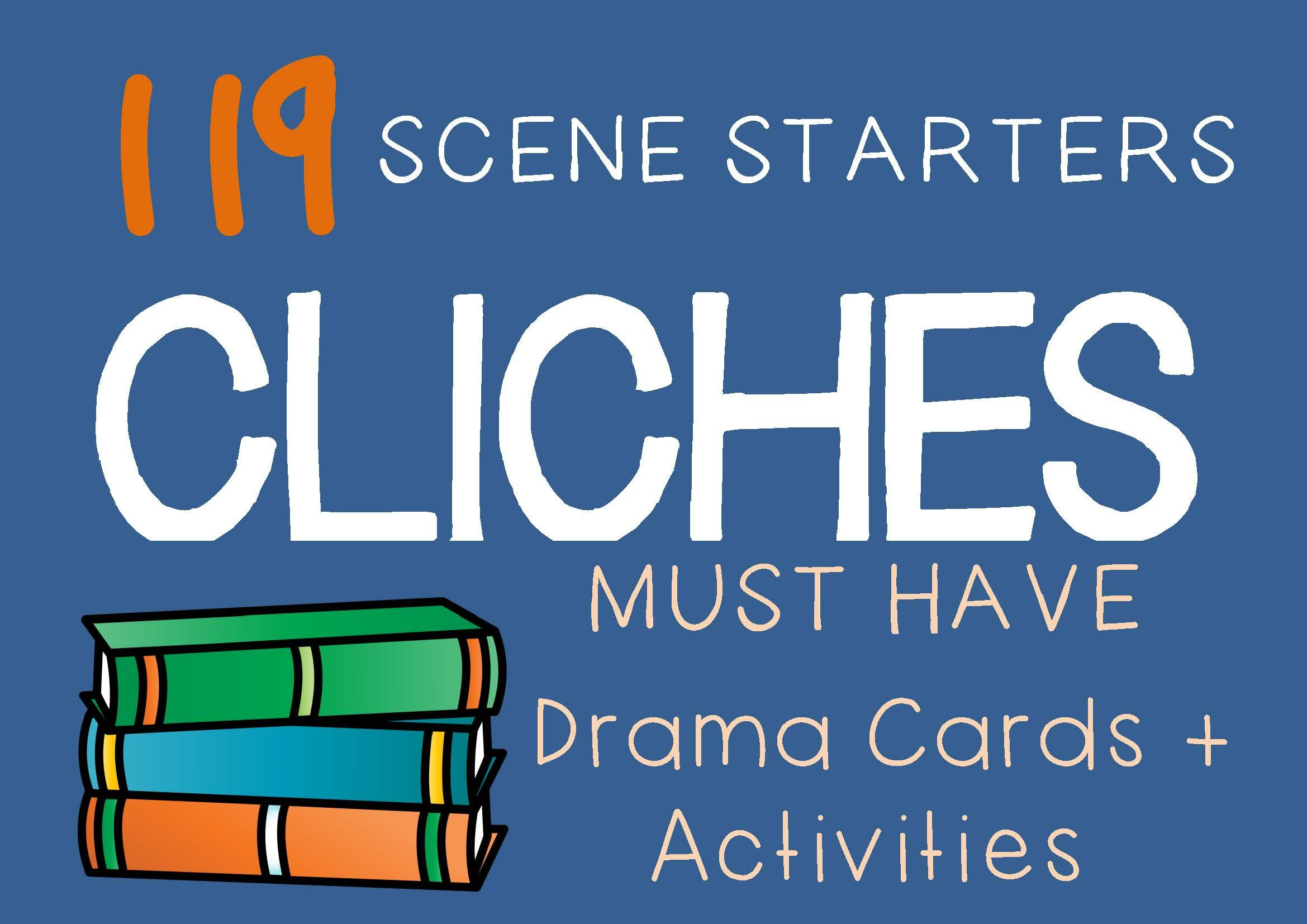 Cliches Teaching Activities! This set of Cliches comes
