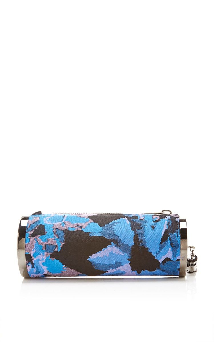 Floral Camo Kate Clutch by Monique Lhuillier for Preorder on Moda Operandi
