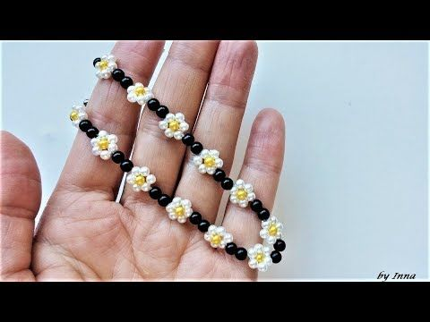 How to make a beaded bracelet, beginners tutorial #jewelry