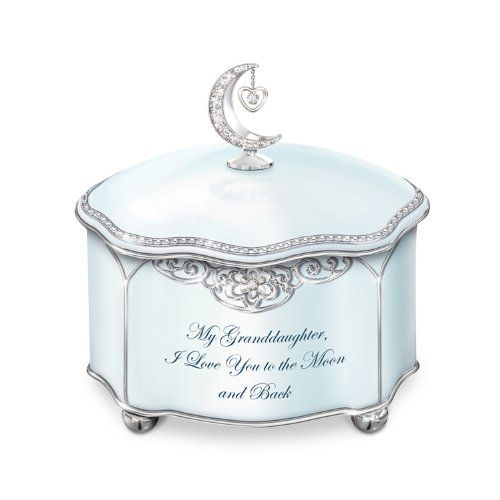 Granddaughter Jewelry Box Best Music Box Granddaughter I Love You Music Boxthe Bradford Design Ideas