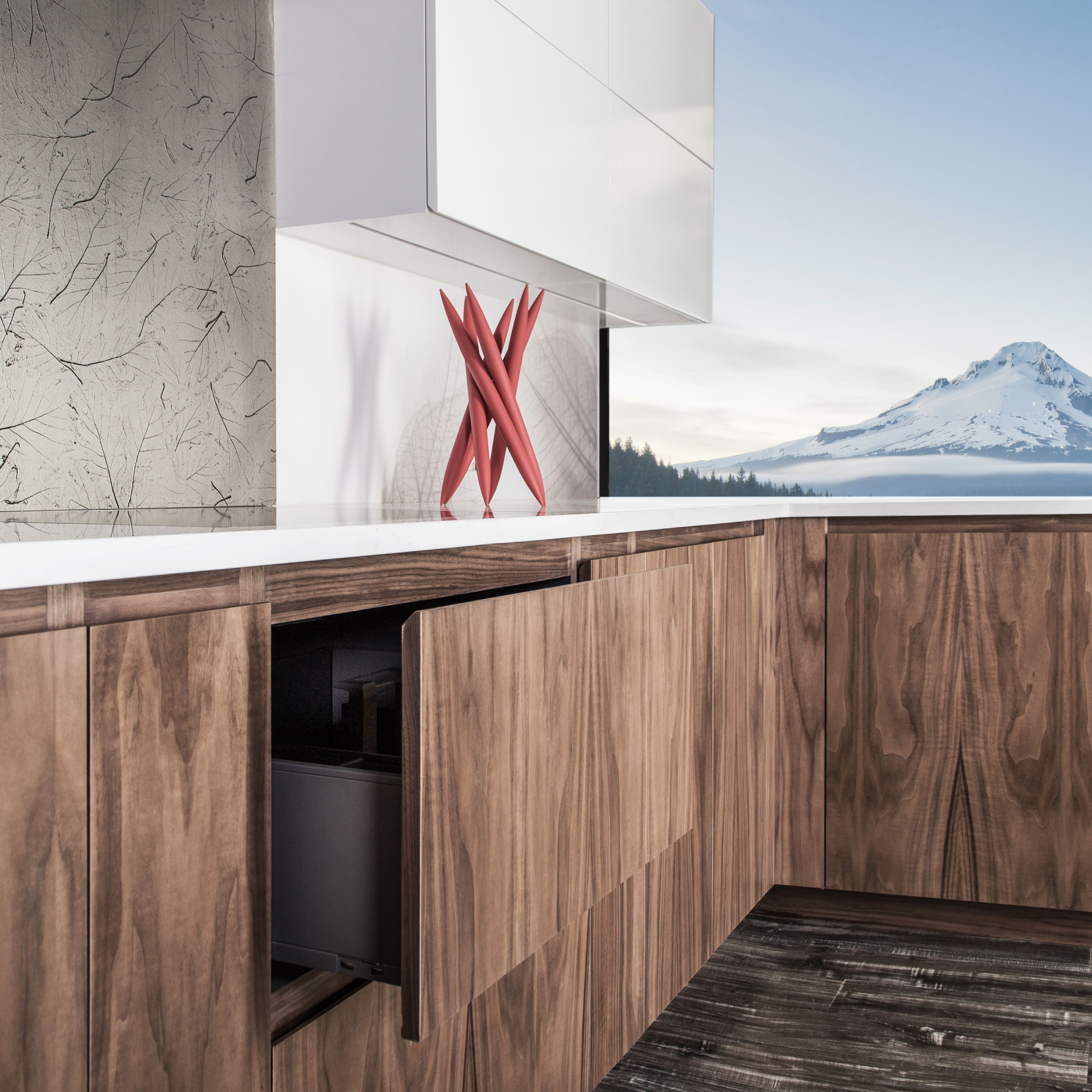 If you would like your kitchen to be super contemporary ...