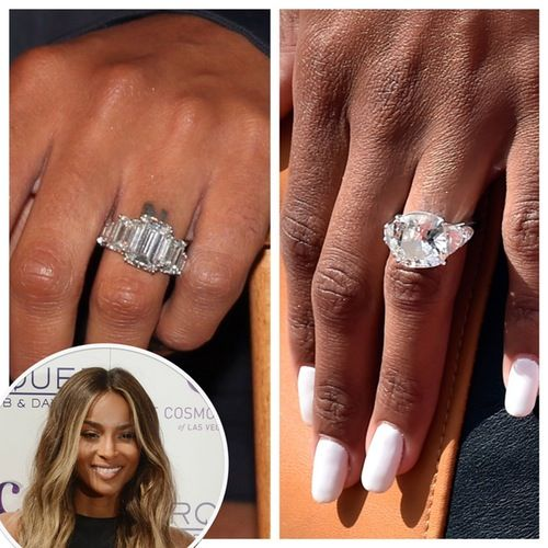 Ciara Shows Off Mive Engagement Ring