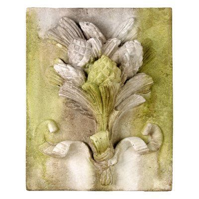 Orlandi Statuary Pinecone Harvest Frieze 16 in. Outdoor Wall Art ...