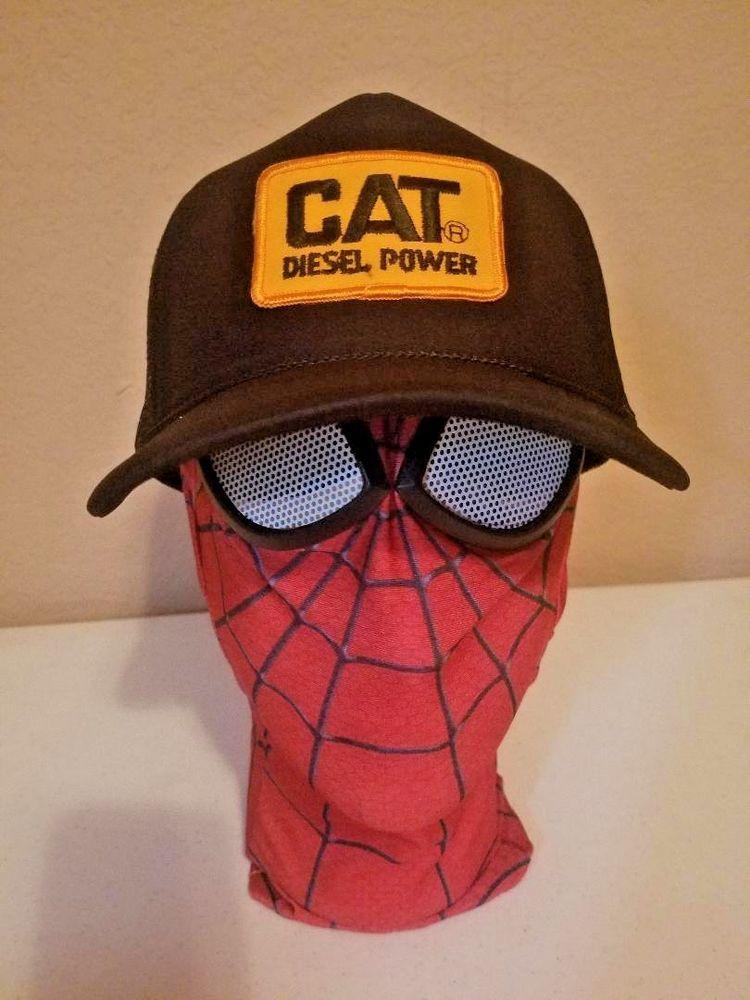 1061116851b Caterpillar CAT Diesel Power Black Trucker Hat Cap new not Vintage  fashion   clothing  shoes  accessories  mensaccessories  hats (ebay link)