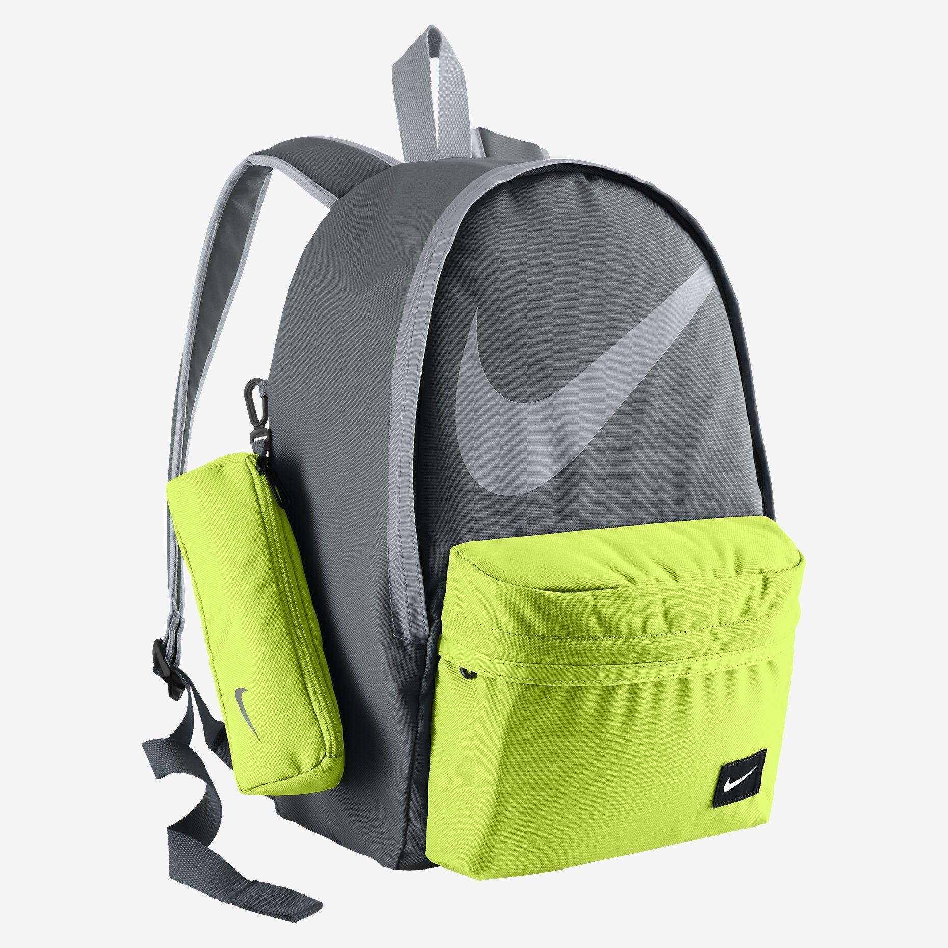 nike school backpacks green