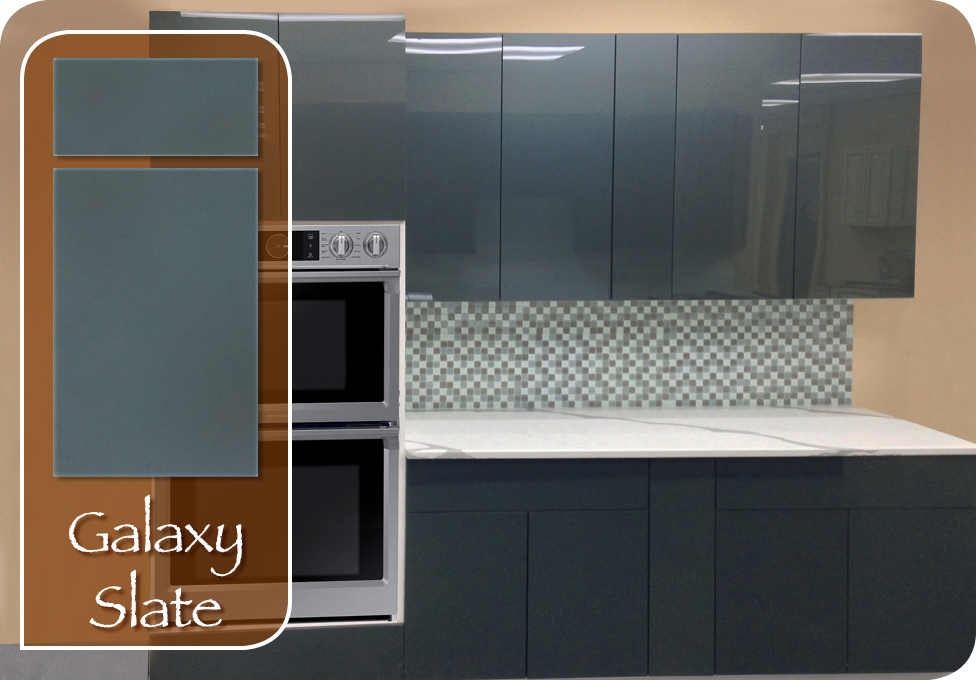 Galaxy Slate Home Art Tile In Queens Ny Kitchen Cabinet
