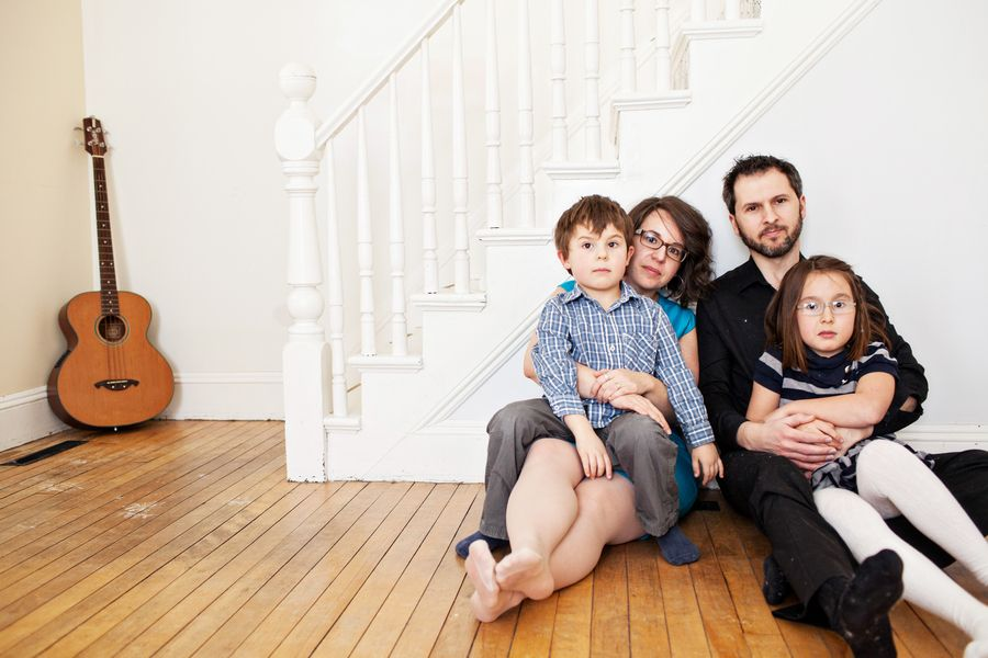 be exactly who you are :: family photos at home