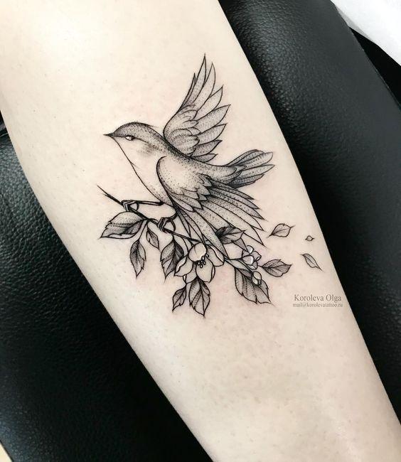 Photo of Idées de tatouage d'aigle; tatouages de fleurs; Tatouages roses; beaux tatouages; …