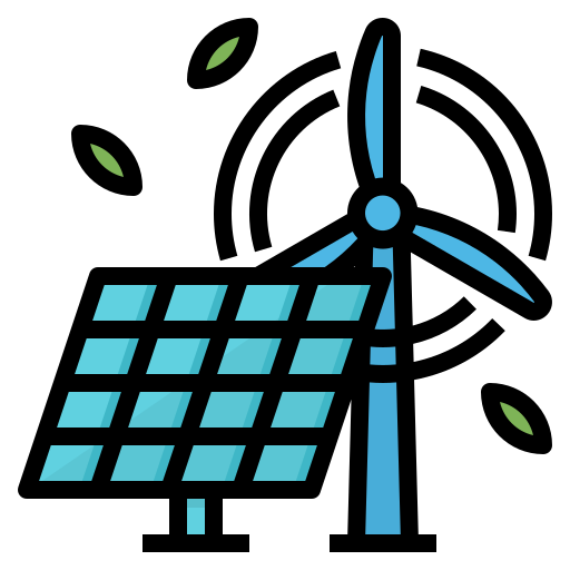 Renewable Energy Free Vector Icons Designed By Monkik Vector Free Vector Icons Free Icons