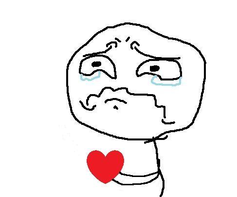 Broken Heart Cute Love Memes Crying Meme Face Comic Face