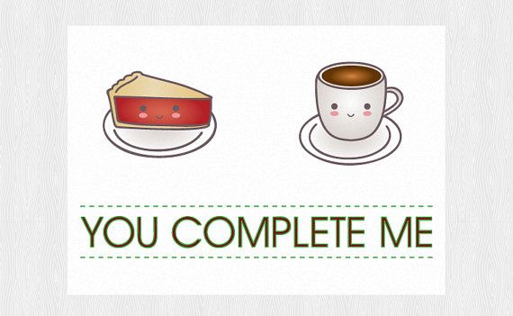 Twin Peaks Funny anniversary printable card - Cherry Pie and - anniversary printable cards