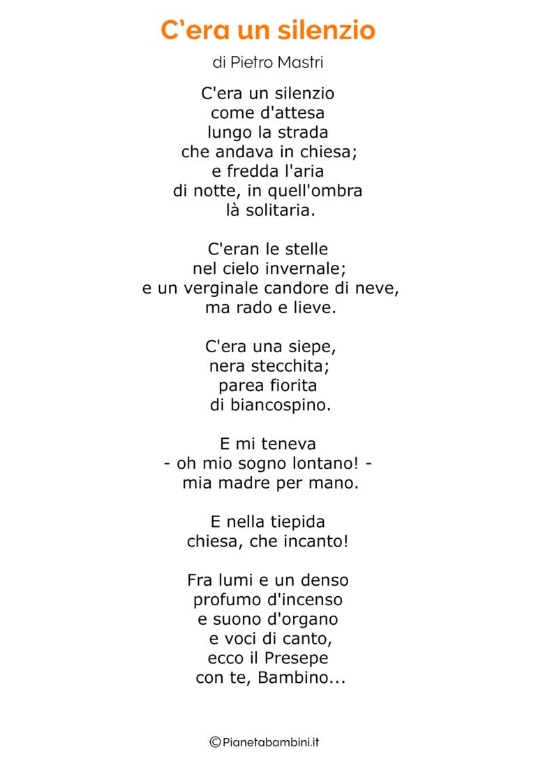 Poesie Di Natale Bimbi 5 Anni.Poesia Di Natale 16 Natale Poesia Natale Italiano