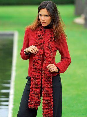 Pike Scarf free knitting pattern
