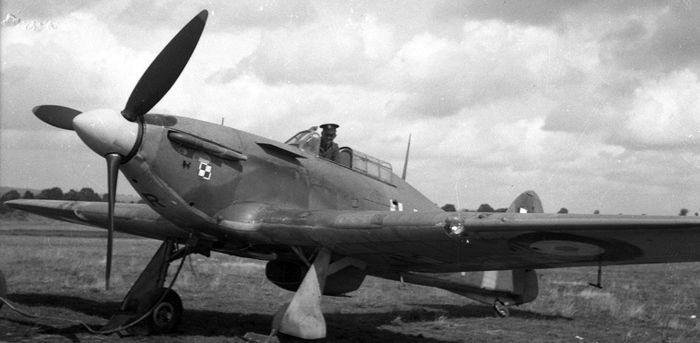 Polish 303 squadron Hurricane (I hope the movie is good