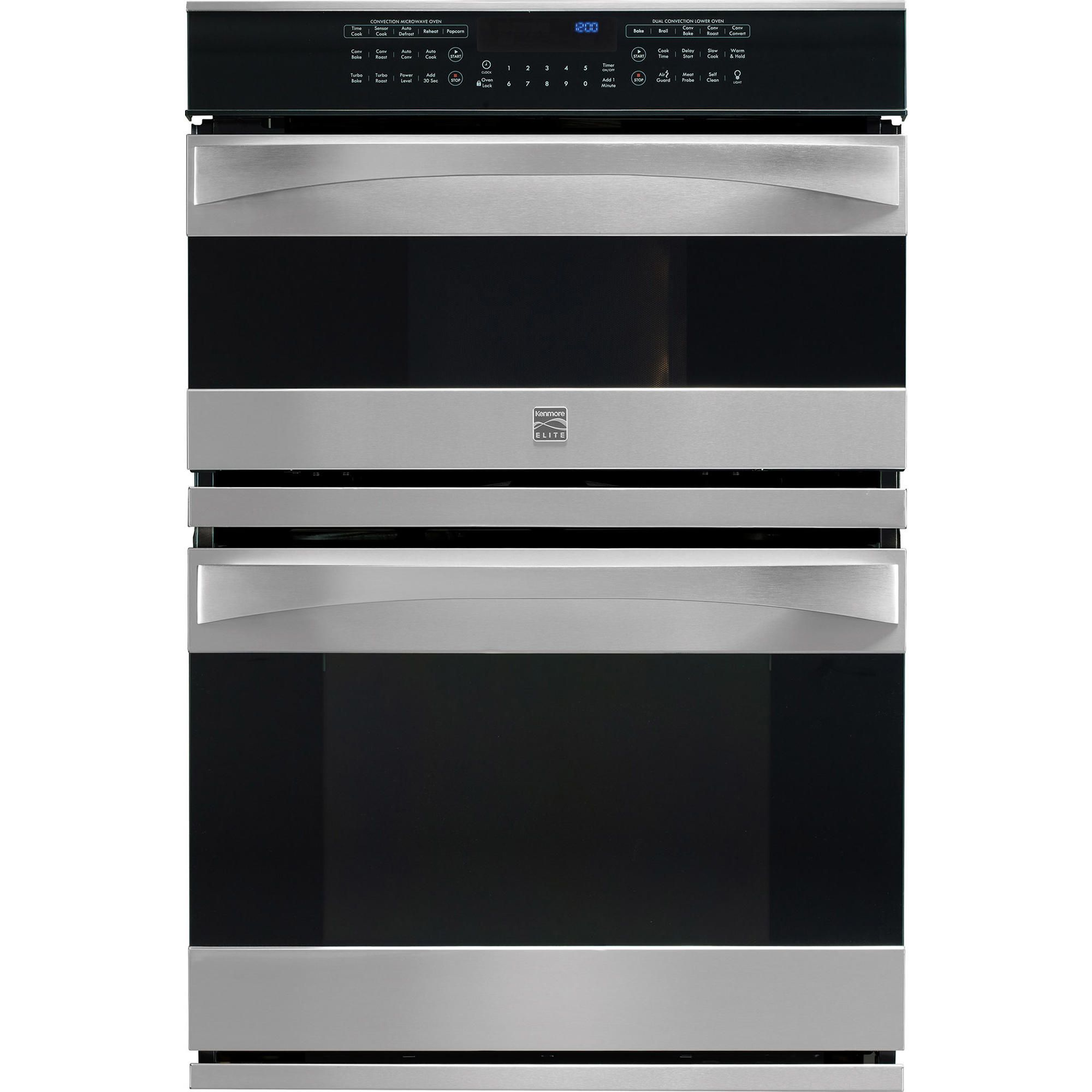 Kenmore Elite 49113 30 Electric Combination Oven Stainless Steel Wall Oven Combination Oven Stainless Steel Oven