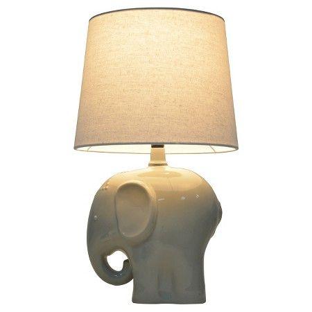 Elephant Table Lamp Gray Pillowfort Elephant Table Lamp Elephant Lamp Grey Table Lamps