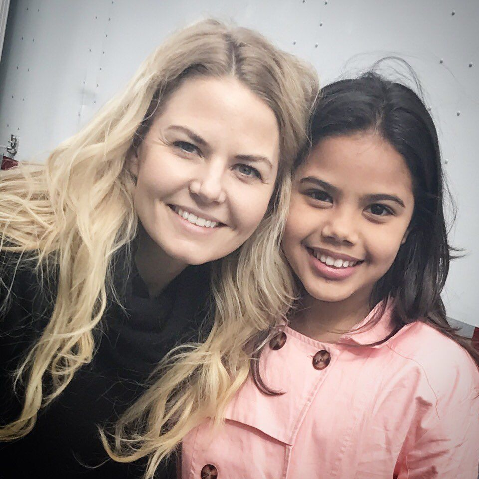 Alison Fernandez‏  Very excited to meet the sweet, wonderful, and radiant Jennifer Morrison a.k.a. Emma on @onceabcofficial #dreamdocometrue @jenmorrisonlive