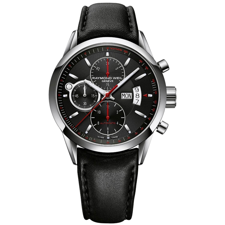 Raymond Weil 7730 STC 20041 Mens Freelancer Black Automatic Watch #fashion #watches #raymondweil #mensfashion #menswatches #authentic #accessories #jewelry #menswatchesluxury