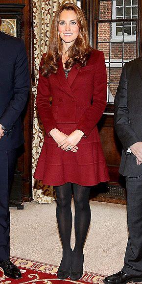 CRIMSON BRIDE photo | Kate Middleton