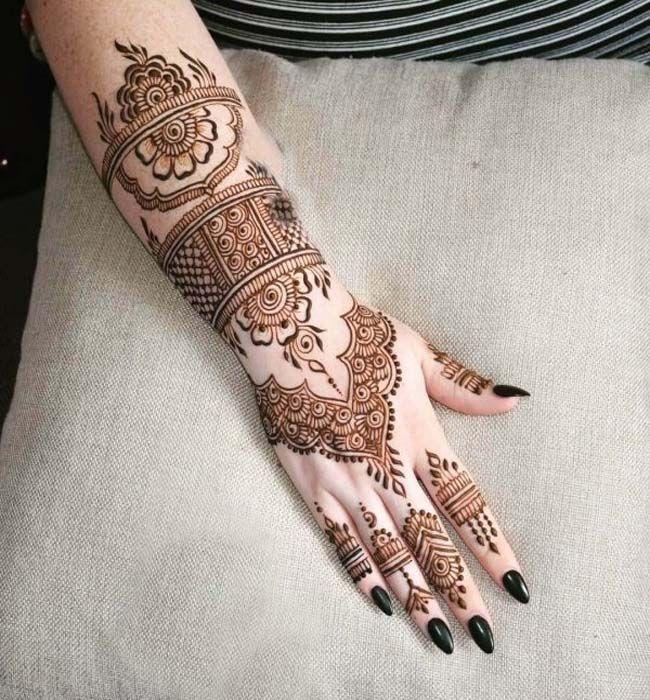 Full Arm Henna Designs: Full Arm Latest Mehndi Designs,