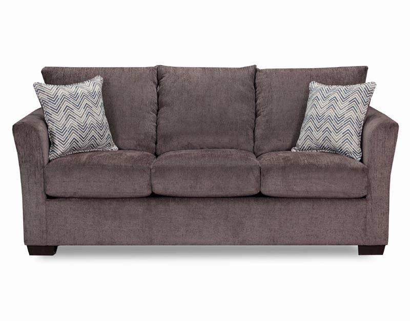 Simmons Upholstery Elan Coffee Queen Sleeper Sofa 4206 04Q