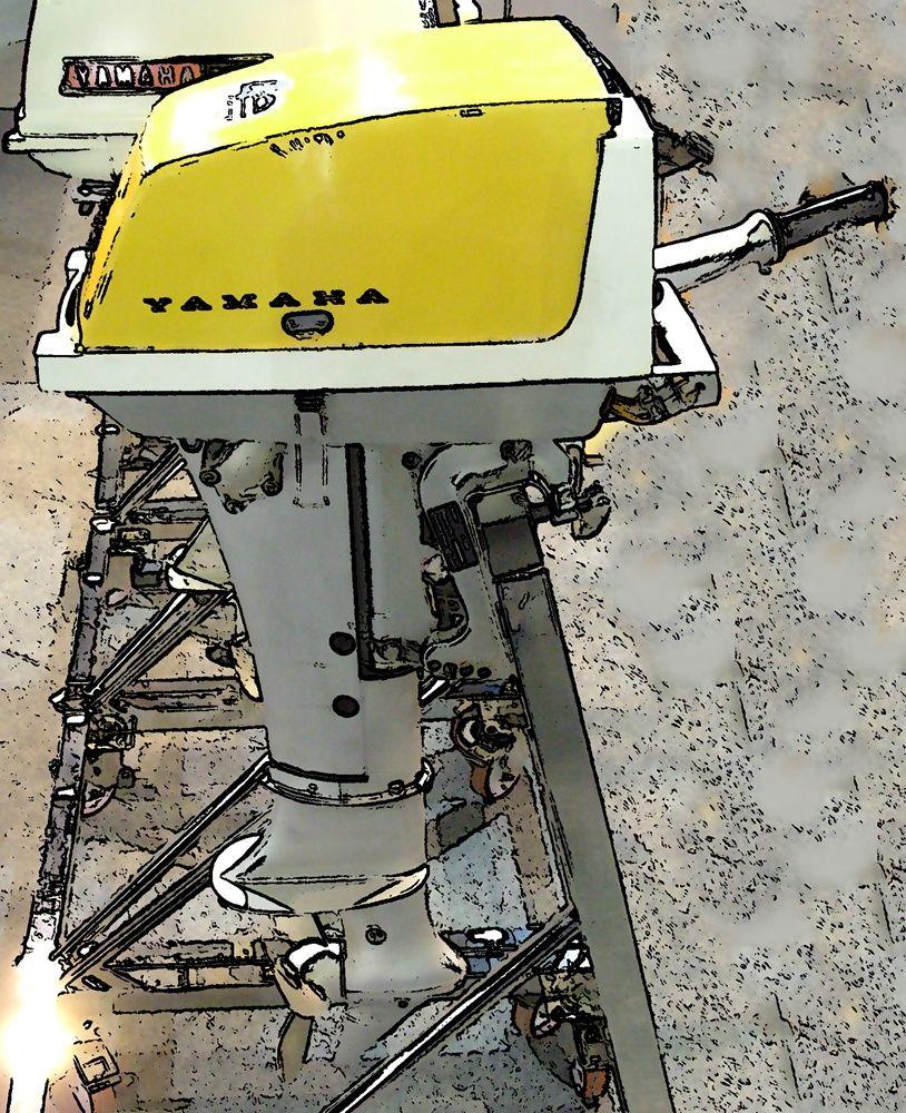 Original Yamaha Outboard motor   Vintage Outboard Motors