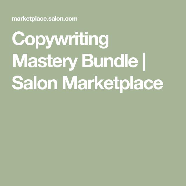 Copywriting Mastery Bundle Salon Marketplace Copywriting