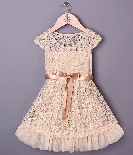 This lace cream dress is absolutely beautiful for all those wonderful occasions. Birthdays, Easter, Spring, Summer, Photo Shoots! (- Easter Girl Dress - Toddler Easter Dress - Birthday Girl Dress)