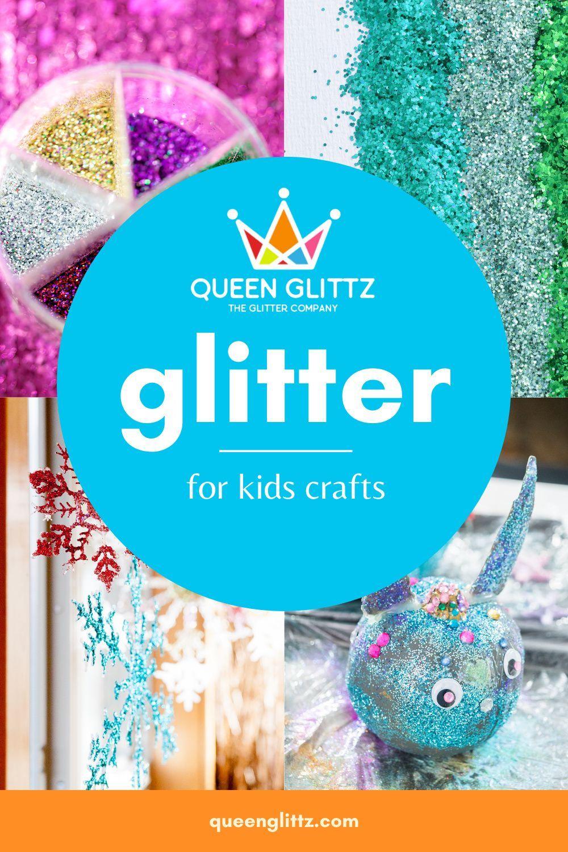 Buy glitter online for kids glitter crafts from Queen Glittz, including seasonal fine glitter, chunky glitter and shaped glitter. #glitter #glittercrafts #kidscrafts #glitterkidscrafts #kidsglittercrafts #artsandcrafts #craftsupplies