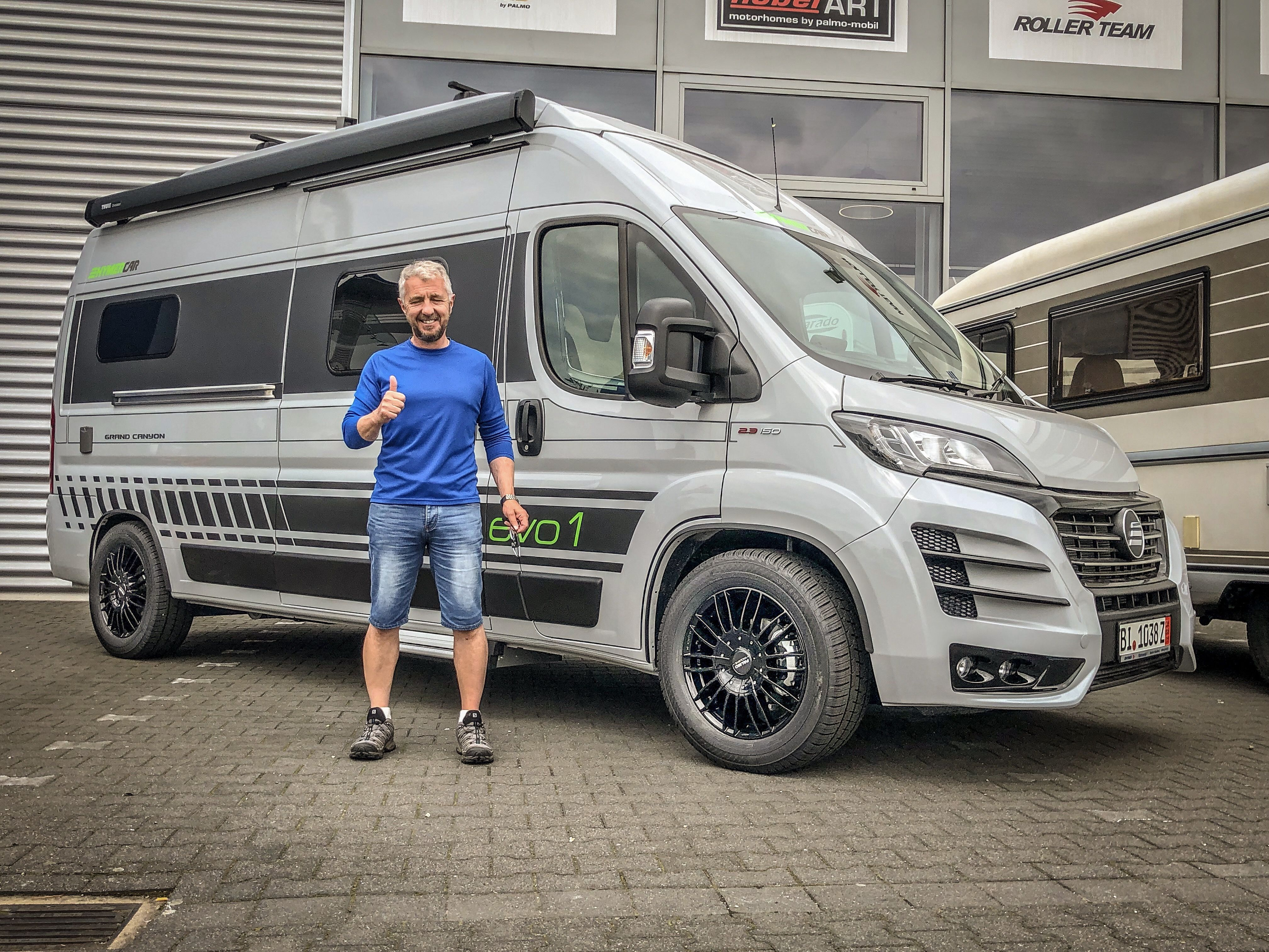 Collection HYMERCar Grand Canyon EVO-I (RHD)  Ducato camper