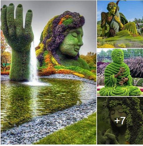 The magnificent sculptures of Montreal Botanical Garden, Canada. https://www.facebook.com/iinature/posts/580818742055958?pnref=story   https://www.facebook.com/marja.riipi