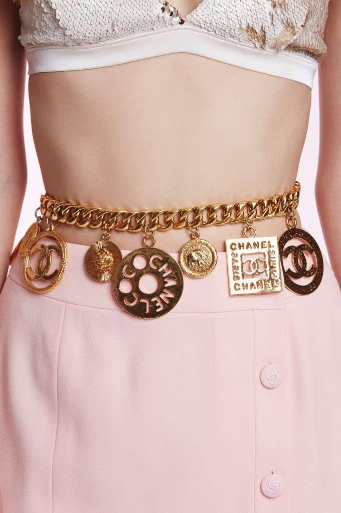 Vintage Chanel Charm Belt - Accessories | Valentine's Day | Valentine's Day | Chanel