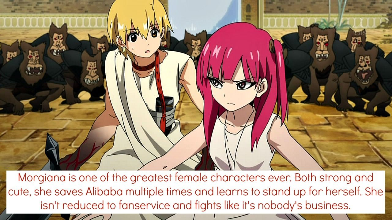 Confessions of an Animangaholic Anime magi, Female anime