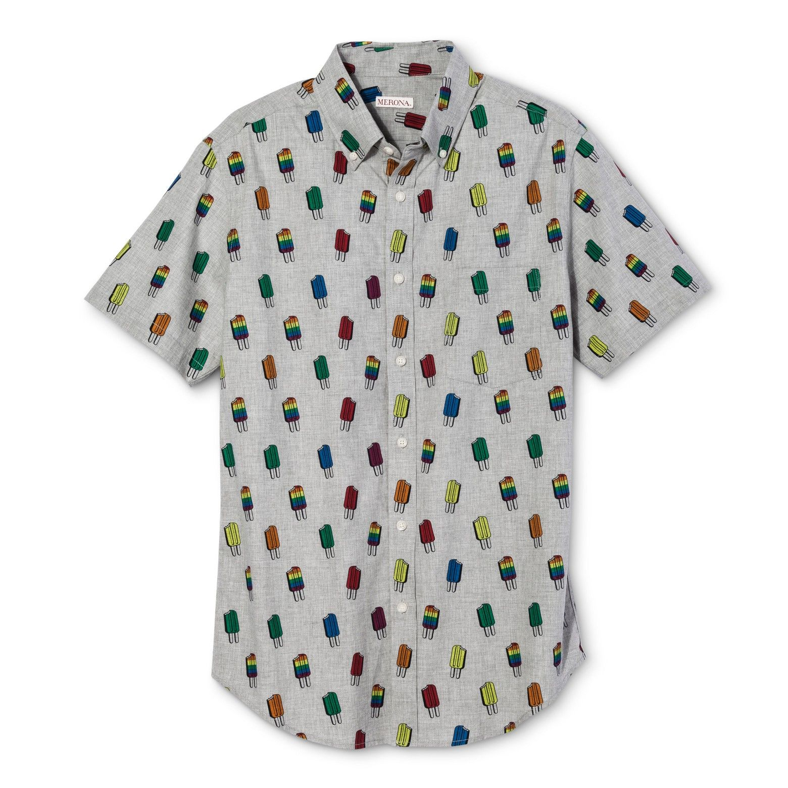Button Up Some Sweet Style With The Pride Short Sleeve