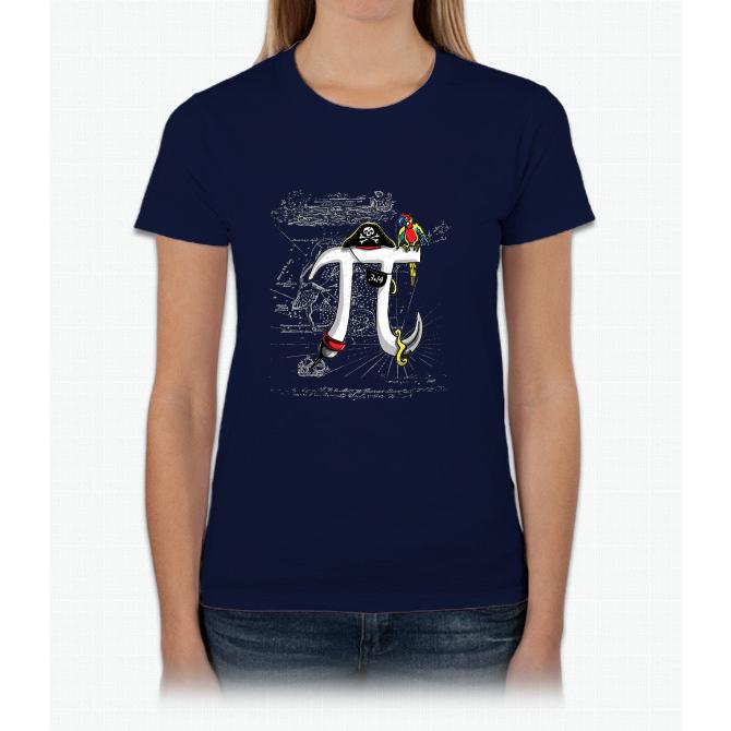 Good Pi Gone Bad Pirate Pi Symbol Womens T Shirt Products