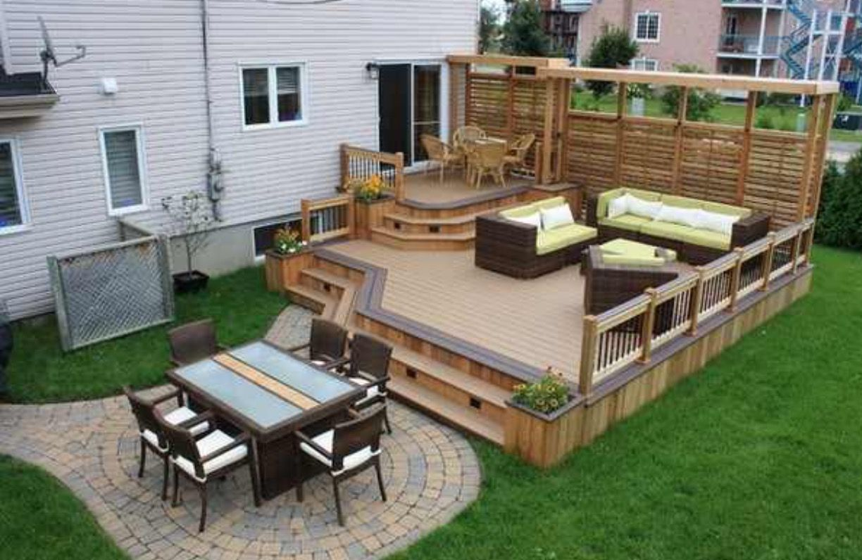 Pin by LaLa Prsbry on Love Nest Ideas | Patio deck designs ...