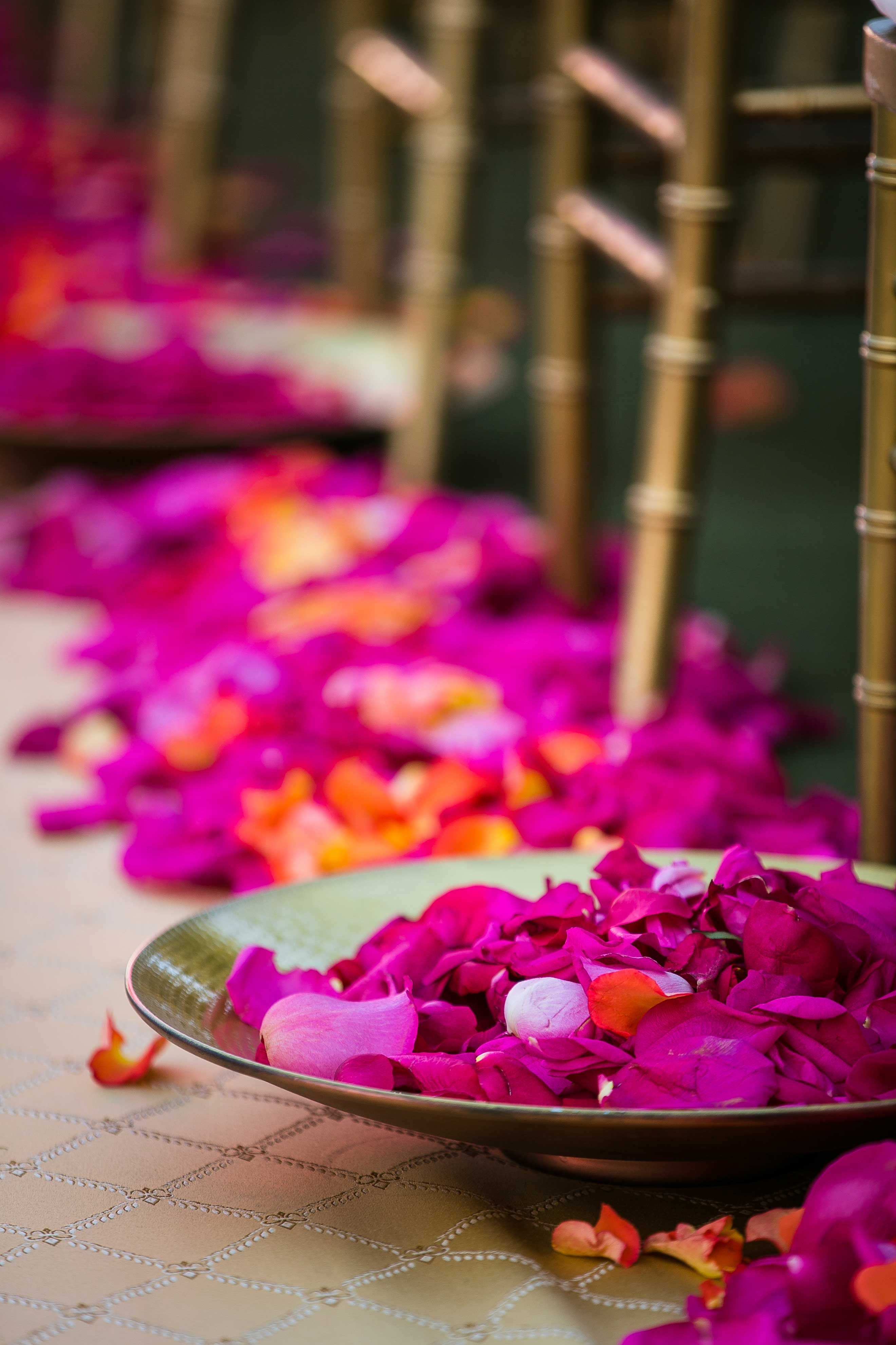 Vibrant Indian Wedding Ceremony + Modern Rooftop Reception | Indian ...
