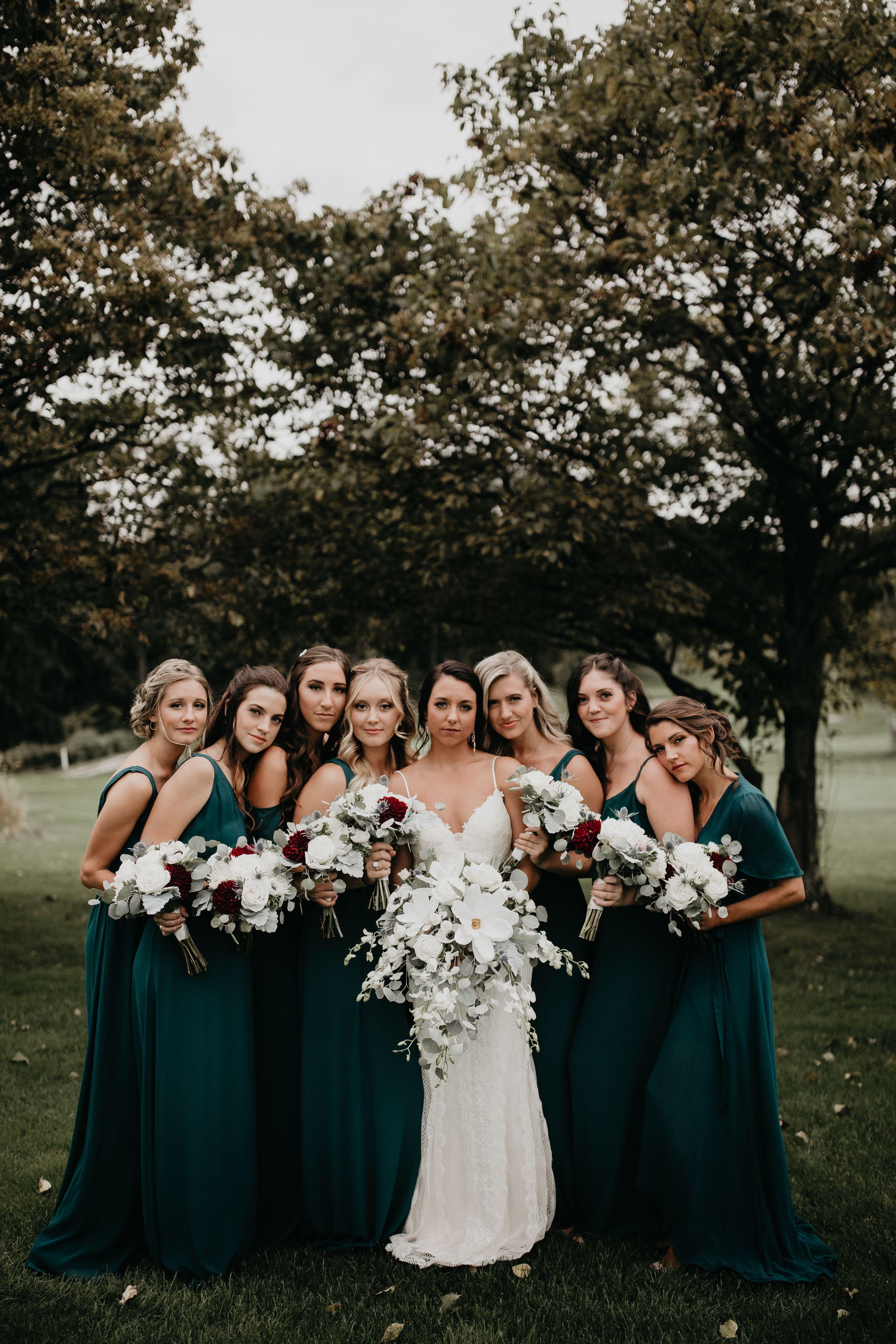 Www Rachelrowland Com Www Instagram Com Rachelrowlandphotography Co Emerald Green Bridesmaid Dresses Forest Green Bridesmaid Dresses Emerald Bridesmaid Dresses