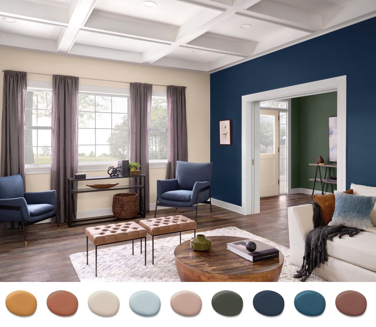 Sherwin Williams On What Color Palettes Will Take Us Into 2020 And Beyond Color Palette Living Room House Color Schemes Interior Great Room Paint Colors