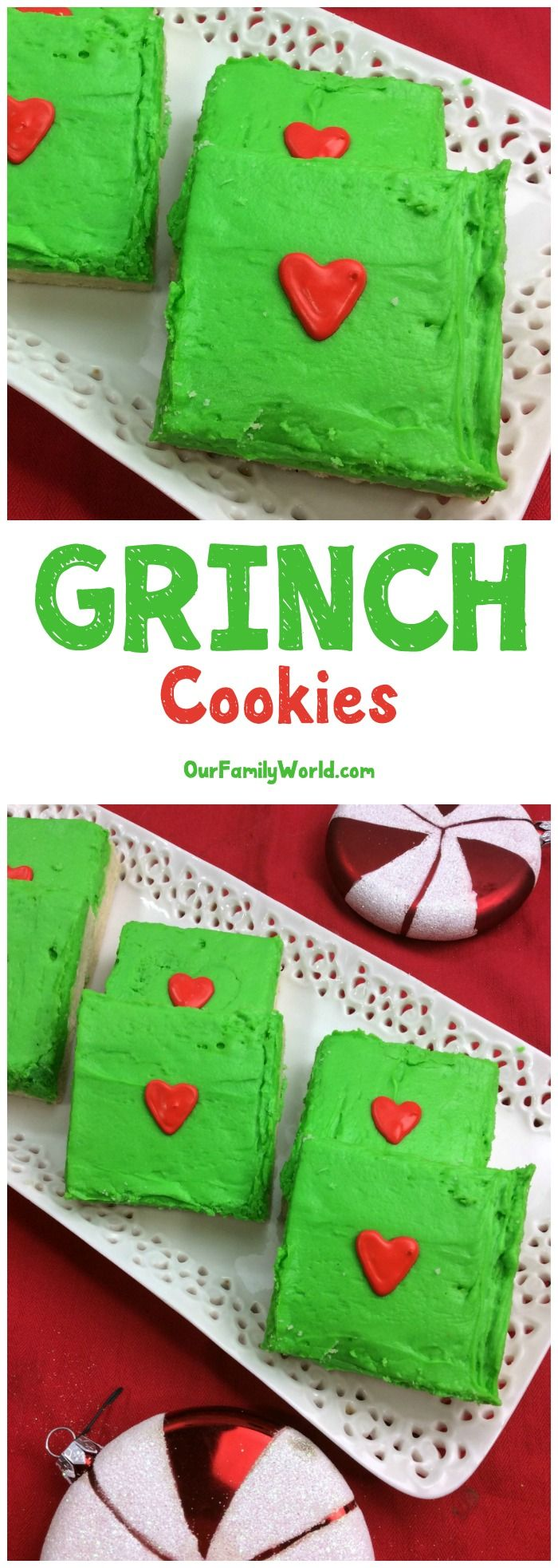 The Grinch Cookies Recipe Your Little Whos Are Craving