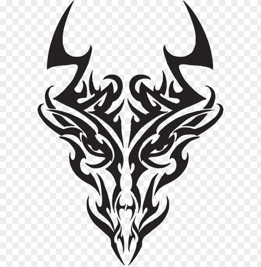 Tribal Dragon Head Tattoos Dragon Head Tr Tribal Dragon Head Tattoos Designs Png Image With Transparent Background Png Free Png Images Dragon Head Tattoo Head Tattoos Drawings