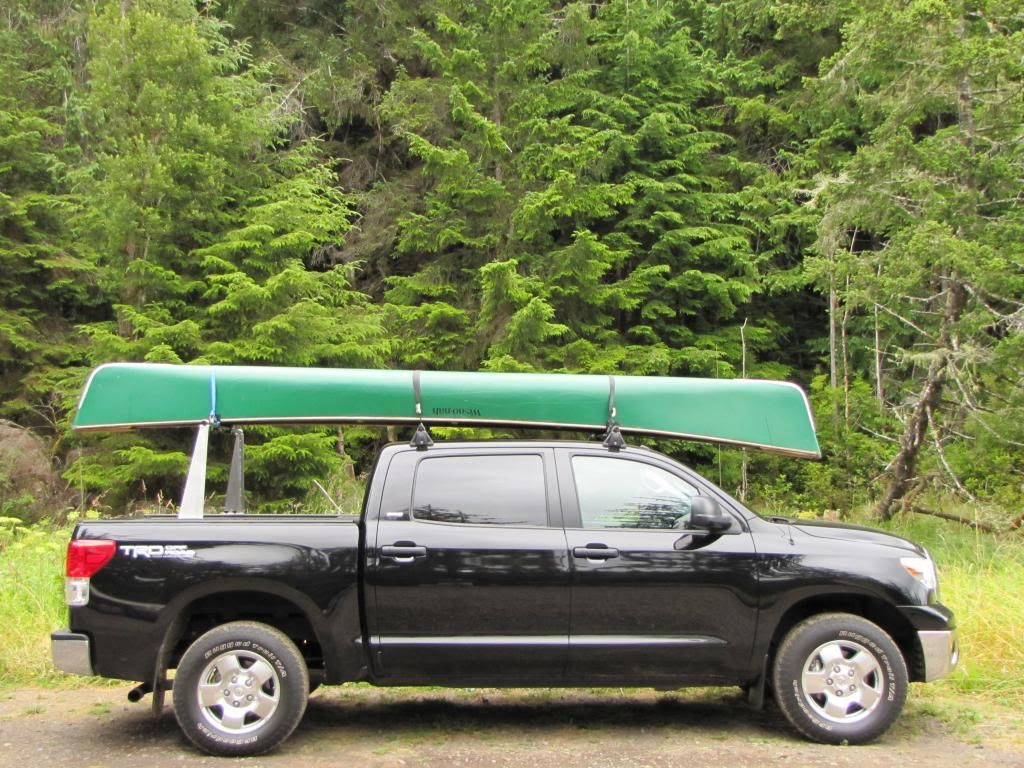 Truck cap or thule xsporter rack tundratalk net toyota tundra discussion forum