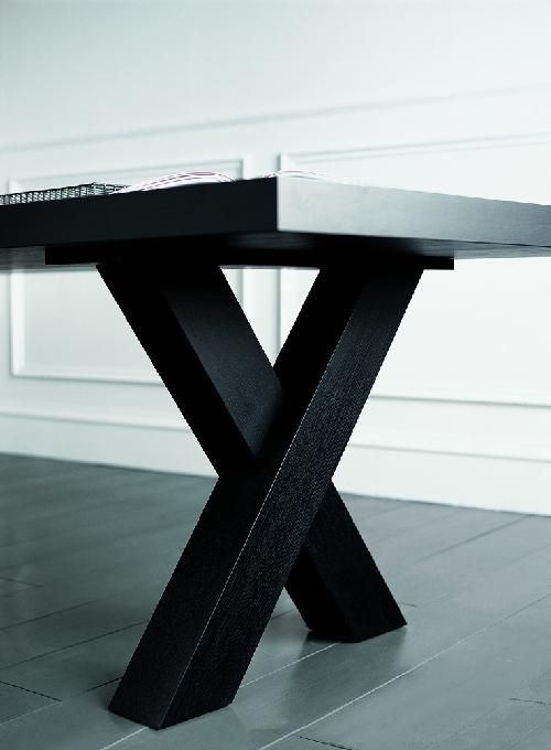 Elegant Black Dining Table Andrea By Casamilano Dining Area - Black-dining-table-andrea-by-casamilano