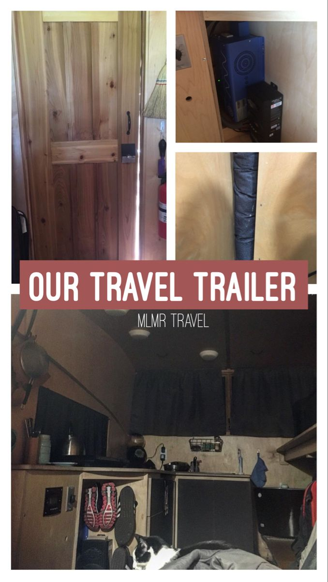 Our travel trailer tiny home #traveltrailer #nomadlife #trailerlife #tinyhouseonwheels