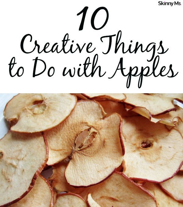 10 Creative Things To Do With Apples
